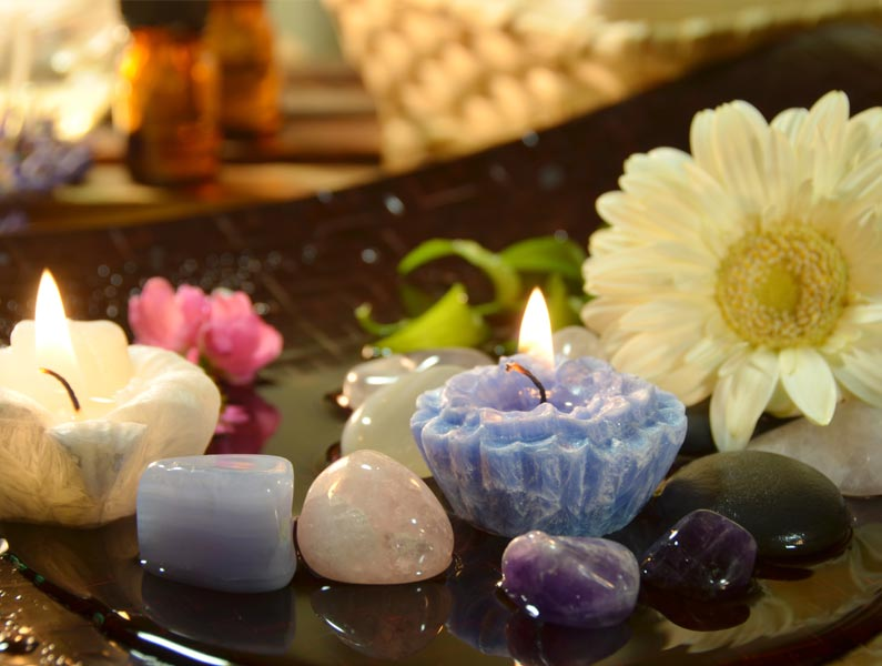 Hands-on Treatment - Sound and Crystal Chakra Therapy